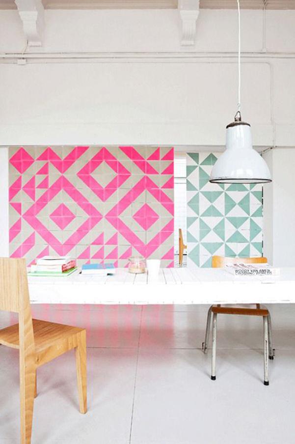 Idee decor piastrelle geometriche - Piastrelle geometriche cucina ...