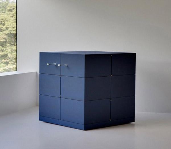 Cubrick cabinet lo stipetto ispirato al cubo di rubik for Stipetto bagno