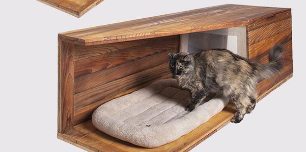 14 architetti firmano la cuccia per gatti for Cucce per gatti da esterno coibentate