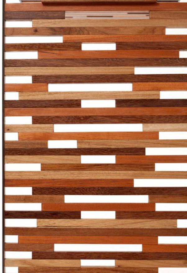 Tavolini Triplice in legno naturale