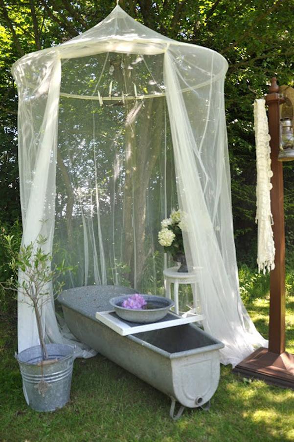 Soluzioni per le zanzariere da esterni for Soluzioni zanzare giardino