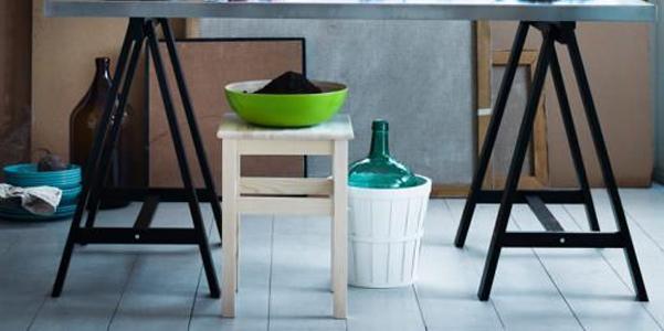 idee decor: come usare lo sgabello oddvar ikea | designbuzz.it - Sgabelli Da Cucina Ikea