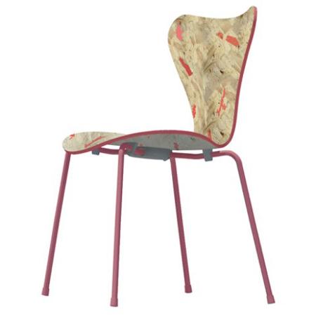 La sedia series 7 secondo 7 architetti contemporanei for La sedia nel design