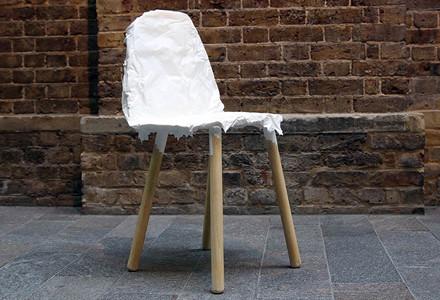crumpled chair