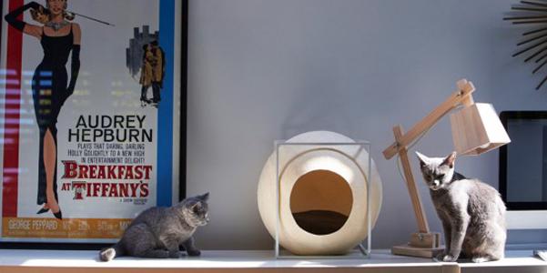 Le cucce per gatti design di meyou - Cuccia per gatti ikea ...