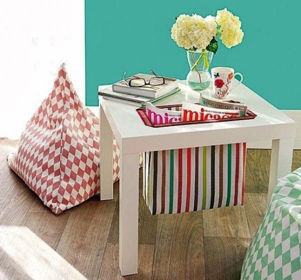 idee decor il tavolino lack di ikea. Black Bedroom Furniture Sets. Home Design Ideas