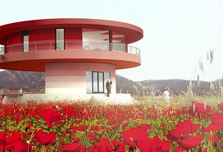 sun house casa che gira