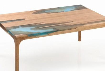 mobili manufract legno e resina