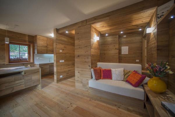 Parquet Impression di Woodco per le pareti  DesignBuzz.it