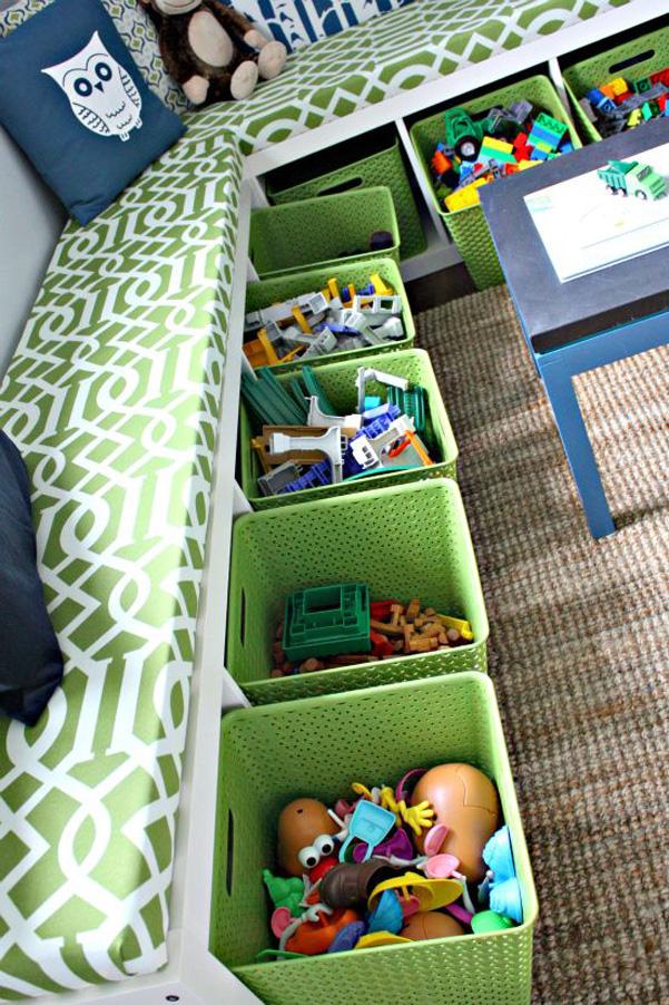 Idee per organizzare i giochi dei bambini DesignBuzz.it