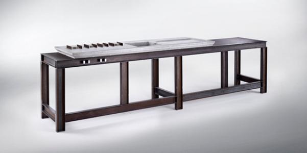 Mmxii kitchen la cucina in ferro e marmo - Cucine in ferro ...