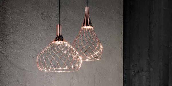 lampadari linea light : Lampadari Mongolfier di Linea Light Group DesignBuzz.it