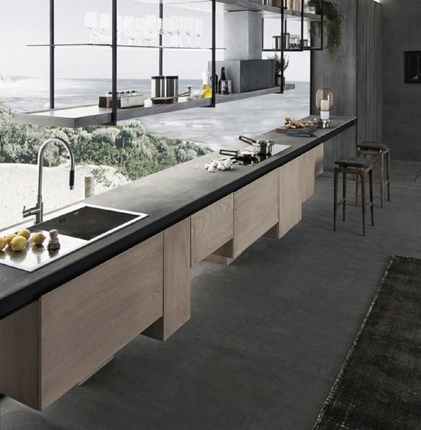 15 cucine moderne in cemento - Cucine in cemento ...