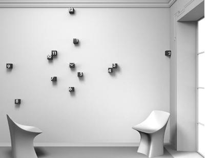 RND_Time di Progetti: l\'orologio da parete tutto da spargere ...