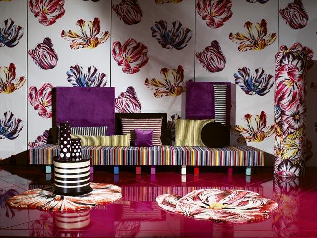 Missoni home la nuova collezione 2008 - Missoni home tappeti ...