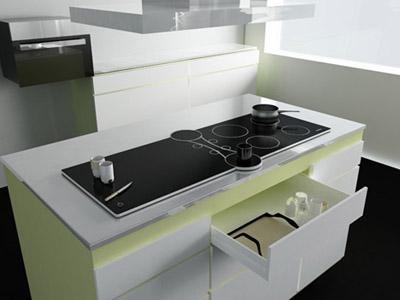 La cucina avveniristica di miele for Futuristic household items