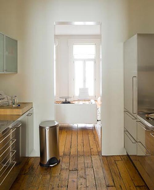 Parquet in cucina simple zona cucina e la zona pranzo - Parquet in cucina opinioni ...