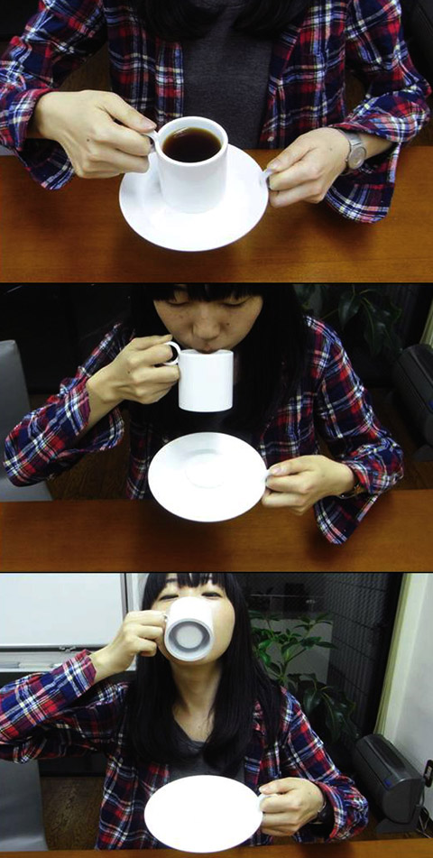 Twin Demitasse cup