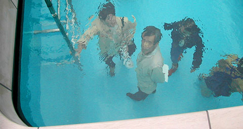 Leandro Erlich pool room