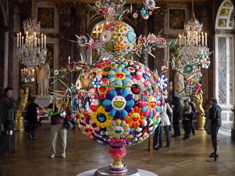 Takashi Murakami Versailles