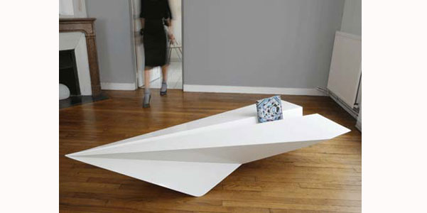 Jet coffee table, aeroplani in salotto | DesignBuzz.it