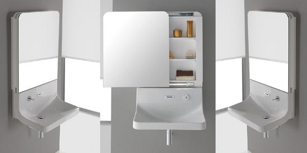 Blend specchio e lavabo 2 in 1 - Specchi contenitori per bagno ...