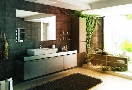 Idee arredo bagno-15 | DesignBuzz.it