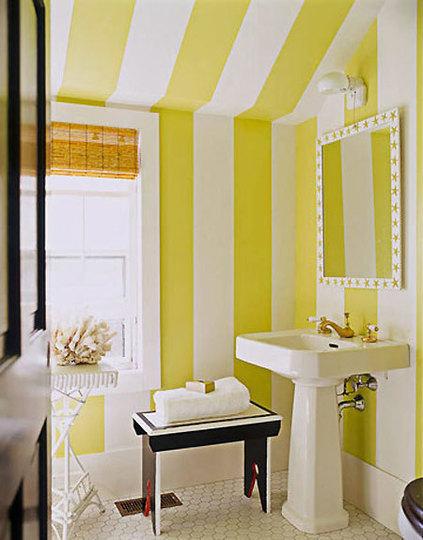 idee arredo bagno colorato-01 | designbuzz.it - Arredo Bagno Colorato