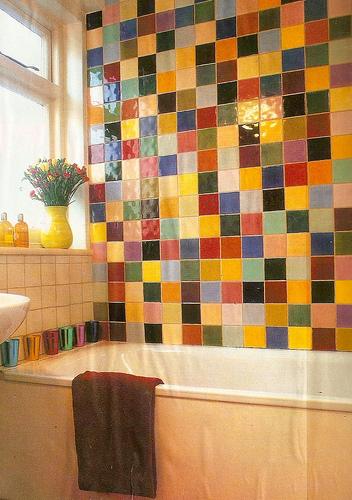Idee arredo bagno colorato 02 - Arredo bagno colorato ...