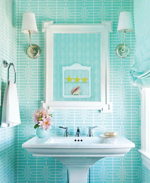 Idee arredo bagno colorato 04 - Arredo bagno colorato ...