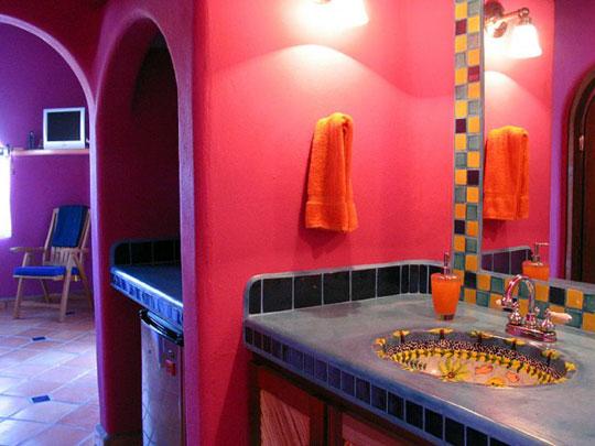Idee arredo bagno colorato 08 - Arredo bagno colorato ...