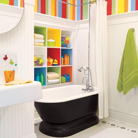 idee arredo bagno colorato-10 | designbuzz.it - Arredo Bagno Colorato