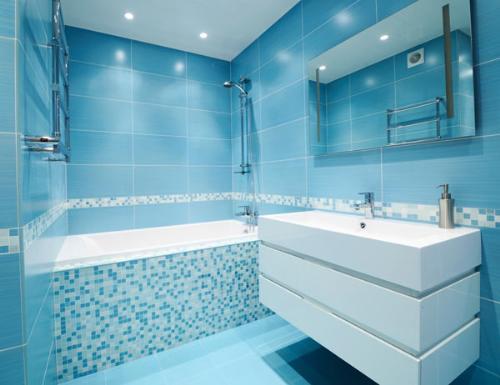 Idee arredo bagno colorato 22 - Arredo bagno colorato ...