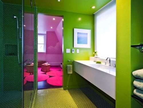 Idee arredo bagno colorato 23 - Arredo bagno colorato ...