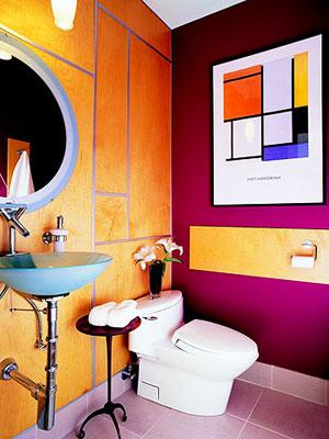 idee arredo bagno colorato-24 | designbuzz.it - Arredo Bagno Colorato