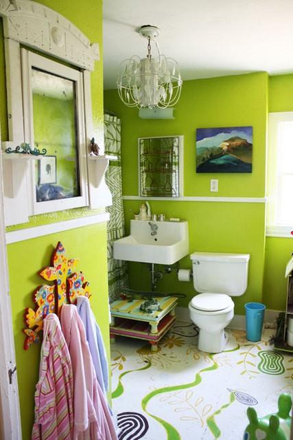 Idee arredo bagno colorato 27 - Arredo bagno colorato ...