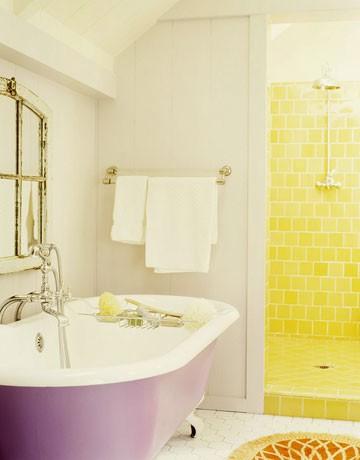 Idee arredo bagno colorato 33 - Arredo bagno colorato ...