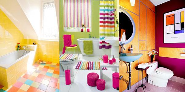 Idee per arredo bagno colorato for Complementi d arredo per bagno