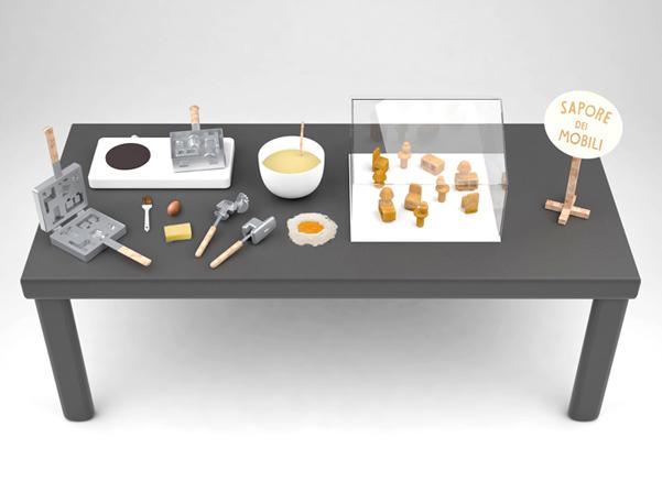 Sapore dei mobili mobili da mangiare for Stipetto bagno