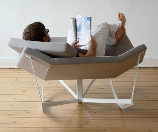 Sedia a dondolo di coppia - Sedia dondolo design ...