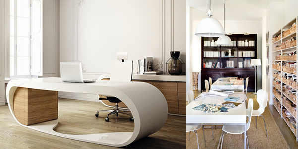 Idee per arredare l 39 ufficio for Arredare studio in casa