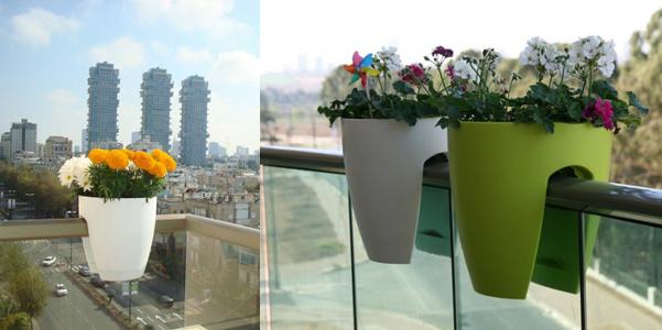 Vasi da ringhiera greenbo - Vasi da giardino ikea ...