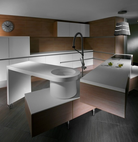 Quirky Kitchen Lighting: Cubello Di Amr Helmy Designs