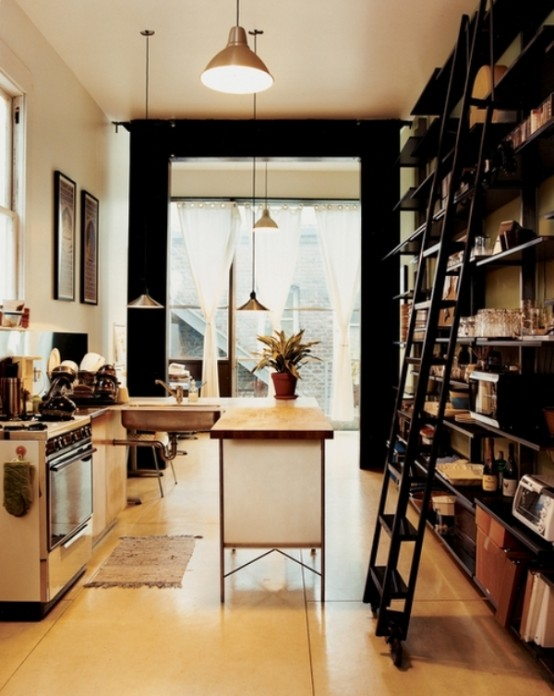 Idee arredo cucina piccola 34 - Arredare cucina soggiorno piccola ...