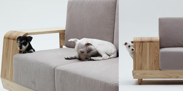 Divano con cuccia incorporata for Cuccia cane ikea