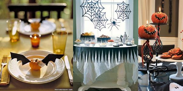 Idee per decorare la tavola di halloween for Decorazioni halloween casa