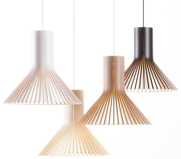 Lampade di legno Secto Design Oy  DesignBuzz.it