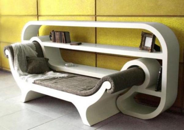 Angolo lettura salva spazio designbuzz.it