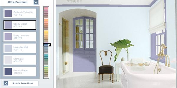 Colori Alle Pareti Foto.Cambiare Colore Alle Pareti Con Un Software Designbuzz It