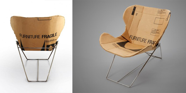Sedie In Cartone Design.Sedia In Cartone Re Ply Designbuzz It